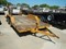 SHOPBUILT STEEL FLATBED TRAILER