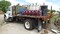 1989 INTERNATIONAL 4900 FLATBED SERVICE TRUCK,  IH DIESEL, 5 SPEED, PRODUCT
