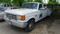 1993 FORD F SUPER DUTY FLATBED TRUCK,  GAS, AUTOMATIC S# 2FDLF47M5PCB46789