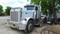 1987 PETERBILT 379 TRUCK TRACTOR,  CATERPILLAR 3406 DIESEL, 13 PSEED, TWIN