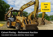 Calvert Paving - Retirement Auction