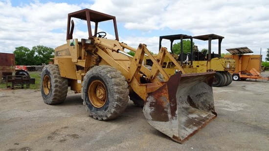 CASE W20C LOADER,  WHEEL ARTICULATED, CANOPY, GP BUCKET S# 9155877