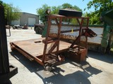 OILFIELD WINCH BED  WITH ROLLING TAIL