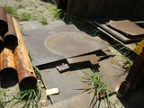 LOT OF MISCELLANEOUS FLAT METAL