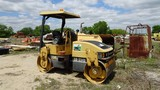 2000 CATERPILLAR CB-334D ROLLER, 2,855 hrs,  DOUBLE SMOOTH DRUMS, APPROX 48