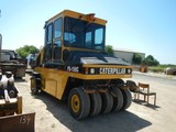 2006 CATERPILLAR PS150C PNEUMATIC ROLLER, 2583 HOURS  ENCLOSED CAB WITH AC