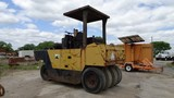 BROS SP-6000 PNEUMATIC ROLLER,  7 WHEEL, DETROIT DIESEL