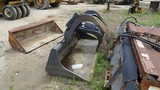 THOMAS U-1931 LOADER-GRAPPLE,  FITS SKID STEER