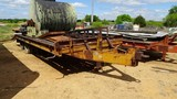1973 BELSHE T-80 EQUIPMENT TRAILER,  PINTLE HITCH, (2) 10000 LB AXLES, DOVE