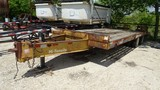 1997 EAGER BEAVER 20XPT EQUIPMENT TRAILER,  PINTLE HITCH, AIR BRAKES, TANDE