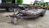 BIG TEX TILT TRAILER,  TANDEM AXLE, BALL HITCH S# N/A