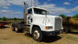 FREIGHTLINER TRUCK TRACTOR,  DAY CAB, CUMMINS DIESEL, 9 SPEED, TWIN SCREW,