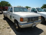 1987 FORD F350 PICKUP TRUCK,  CREEW CAB, DUALLY, GAS, AUTOMATIC, (DOES NOT