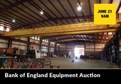 Bank of England Equipment Auction