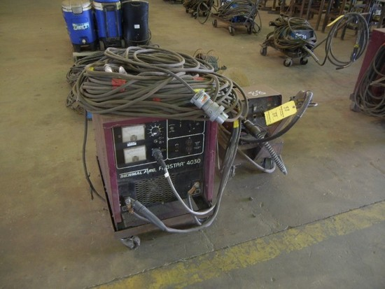 THERMAL ARC FABSTAR 4030 DC ARC WELDER,  WITH THERMAL ARC VA2000 WIRE FEED