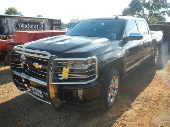 2016 CHEVROLET SILVERADO PICKUP TRUCK, 37,375 mi,  Z71,4-DOOR, V8 GAS, AUTO