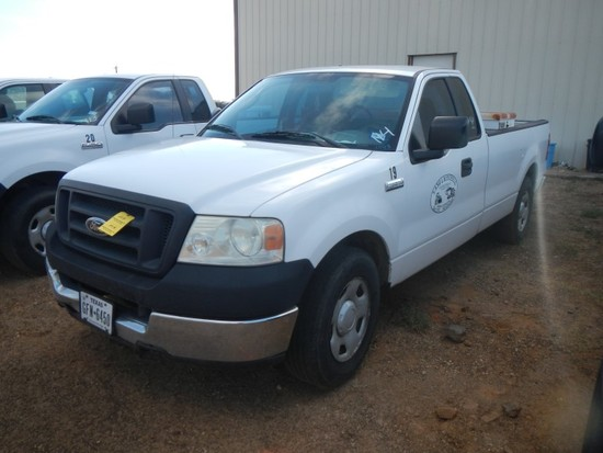 2005 FORD F150 XL PICKUP TRUCK,  EXTENDED CAB, TRITON GAS, AUTOMATIC, FUEL