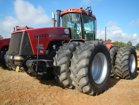 2005 CASE/IH STX425S HD WHEEL TRACTOR, 5345 HOURS  ARTICULATED, 4X4, CAB, A