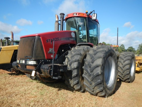 2005 CASE/IH STX425S HD WHEEL TRACTOR, 4092 HOURS  ARTICULATED, 4X4, CAB, A