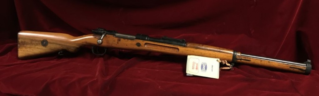 Interarms German K98 8mm Mauser Bolt Action Rifle Set In Mannlicher Stock