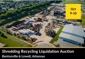 Recycling Yard/Shredding Plant Real Estate Auction
