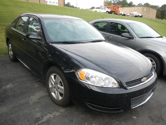2011 CHEVROLET IMPALA CAR, 89,945+ mi,  4-DOOR, V6, AUTOMATIC, PS, AC S# 2G