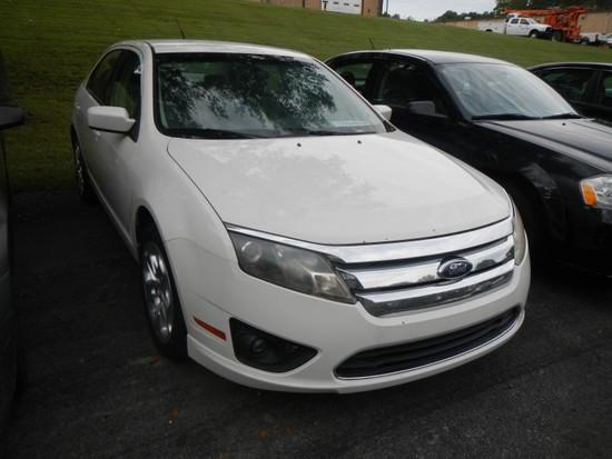 2010 FORD FUSION CAR, 127,804+ mi,  4-DOOR, V6, AUTOMATIC, PS, AC S# 3FAHP0