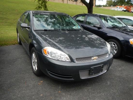 2013 CHEVROLET IMPALA CAR, 88,924+ mi,  4-DOOR, V6, AUTOMATIC, PS, AC S# 2G
