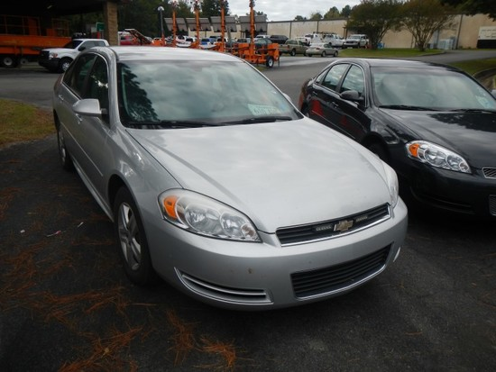 2011 CHEVROLET IMPALA CAR, 91,849+ mi,  4-DOOR, V6, AUTOMATIC, PS, AC S# 2G