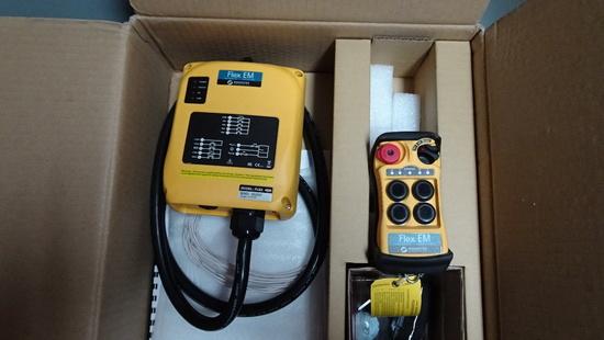 MAGNETEK FLEX 4EM RADIO CONTROL SYSTEM,  FOR WINCHES /CRANES   (NEW)