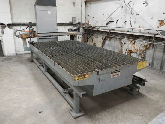 LOCKFORMER-VULCAN PLASMA CUTTING TABLE,  WITH POWERMAX 1000-G3 SERIES TORCH