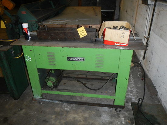 LOCKFORMER DIE FORMING MACHINE S# 10847