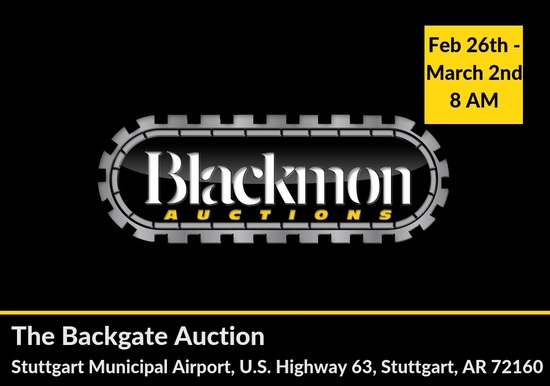 Backgate Auction Truck & Trailer Day