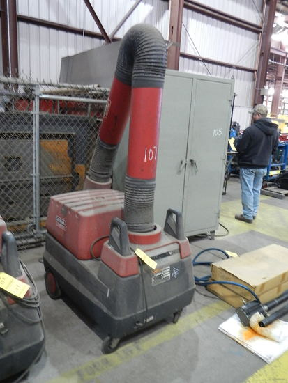 LINCOLN WELDERS VACUUMS  ON MOBILE CART LOAD OUT FEE: $5.00