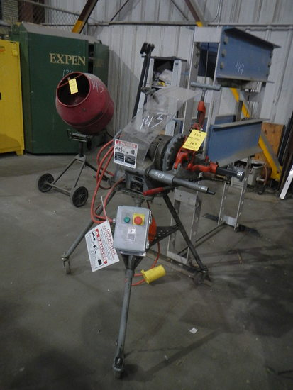RIDGID PIPE THREADER   LOAD OUT FEE: $5.00