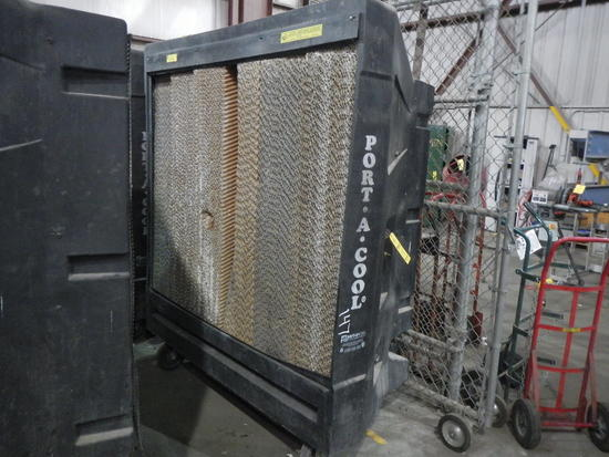 PORT-A-COOL PORTABLE EVAPORATIVE COOLING UNIT   LOAD OUT FEE: $5.00