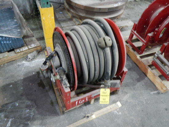 HOSE REEL W/HOSE   LOAD OUT FEE: $5.00