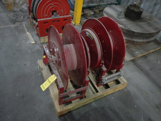 (2) HOSE REELS   LOAD OUT FEE: $5.00