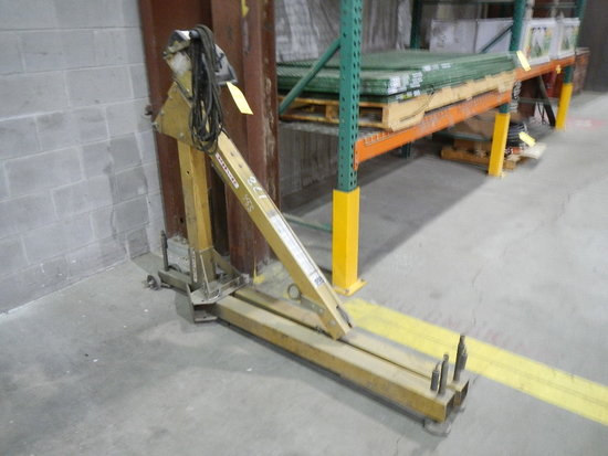 DBI MOBILE LIFT,  350 LB. CAPACITY LOAD OUT FEE: $5.00
