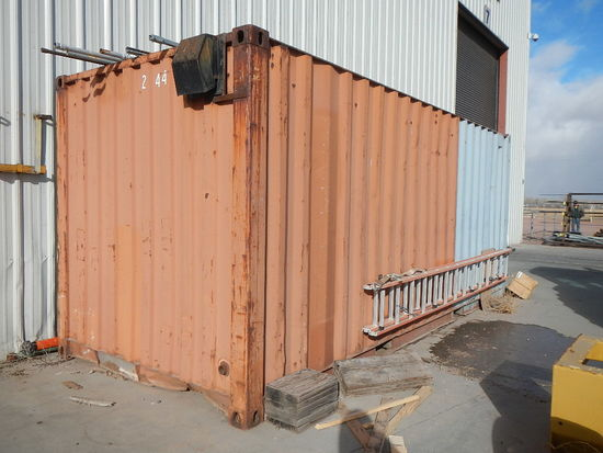 20' CONEX STORAGE/SHIPPING CONTAINER   LOAD OUT FEE: $5.00