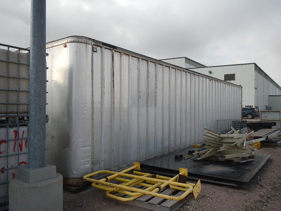 45' STORAGE CONTAINER WITH RAMP   LOAD OUT FEE: $5.00