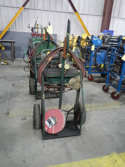 TORCH CART WITH TORCH & HOSES   LOAD OUT FEE: $5.00