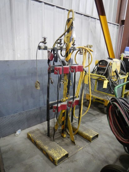 FORKLIFT BOTTLE RACK   LOAD OUT FEE: $5.00