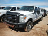 2011 FORD F250 PICKUP TRUCK, 213,825 miles,  CREW CAB, 4X4, V8 GAS, AUTOMAT