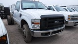 2008 FORD F350 CAB & CHASSIS, N/A  4X4, EXTENED CAB, POWERSTROKE DIESEL, 6