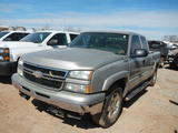 2006 CHEVROLET 1500 PICKUP TRUCK,  EXTENDED CAB, V8 GAS, 4X4, AUTOMATIC, PS
