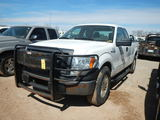 2010 FORD F150 TRUCK, 195,571 mi,  EXTENDED CAB, V8 GAS, 4X4, AUTOMATIC, PS