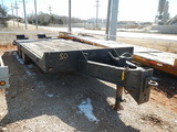 1994 INTERNATIONAL 24' TRAILER,  PINTLE HITCH, TANDEM AXLE WITH DUALS, RAMP