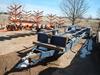 2011 SHOP BUILT BLT PIPE TRAILER,  TANDEM AXLE, SINGLE TIRE S# 20110125731A