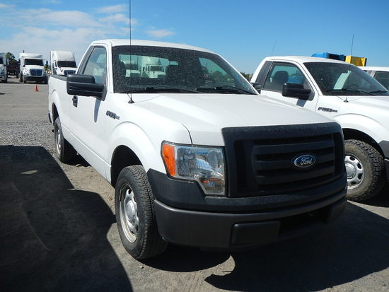 2011 FORD F150 PICKUP, 123050  V8 GAS, AT, PS, AC S# 1FTMF1CF2BKD95554 C# 7